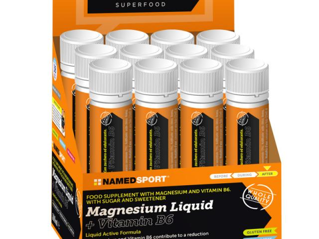Namedsport Magnesium Liquid + Vitamin B6