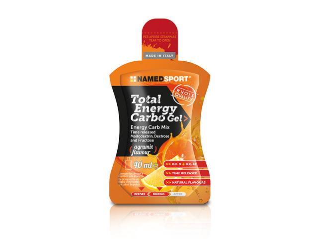 namedsport total energy carbo gel agrum